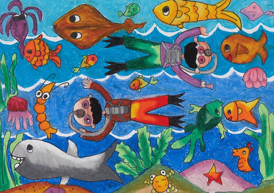 Undervann.11år.Indonesia
