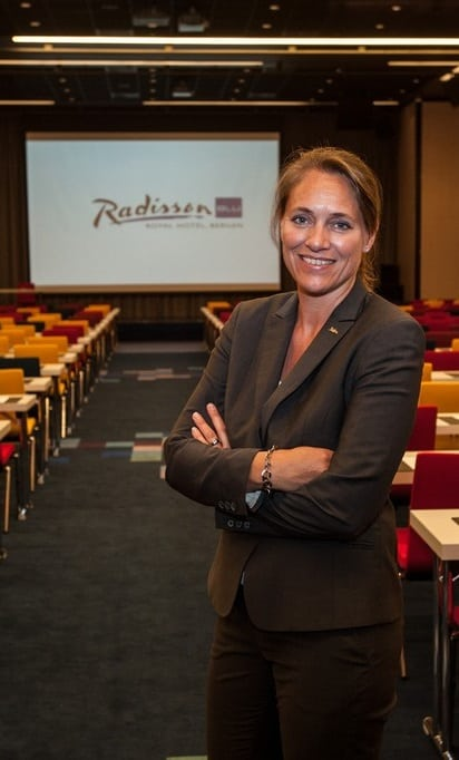 Nina Askvik, General Manager Radisson Blu Royal Hotel