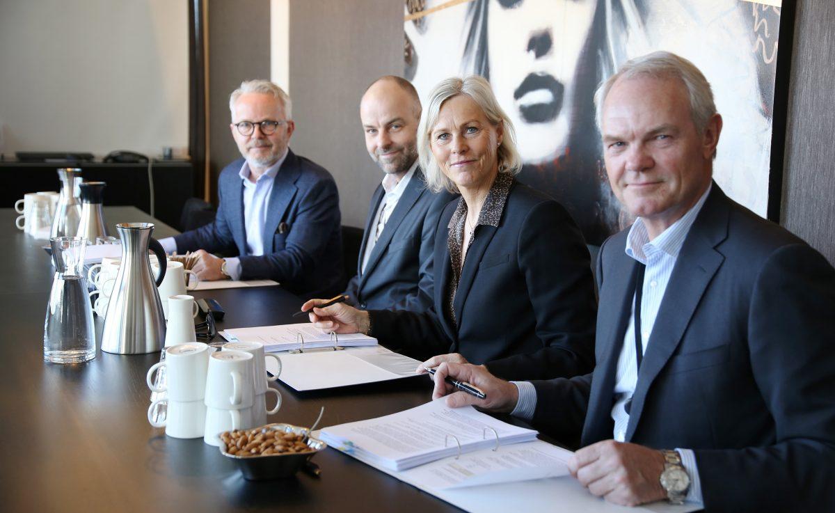Kontraktsignering 21.03.2019 Foto Swedbank Norge