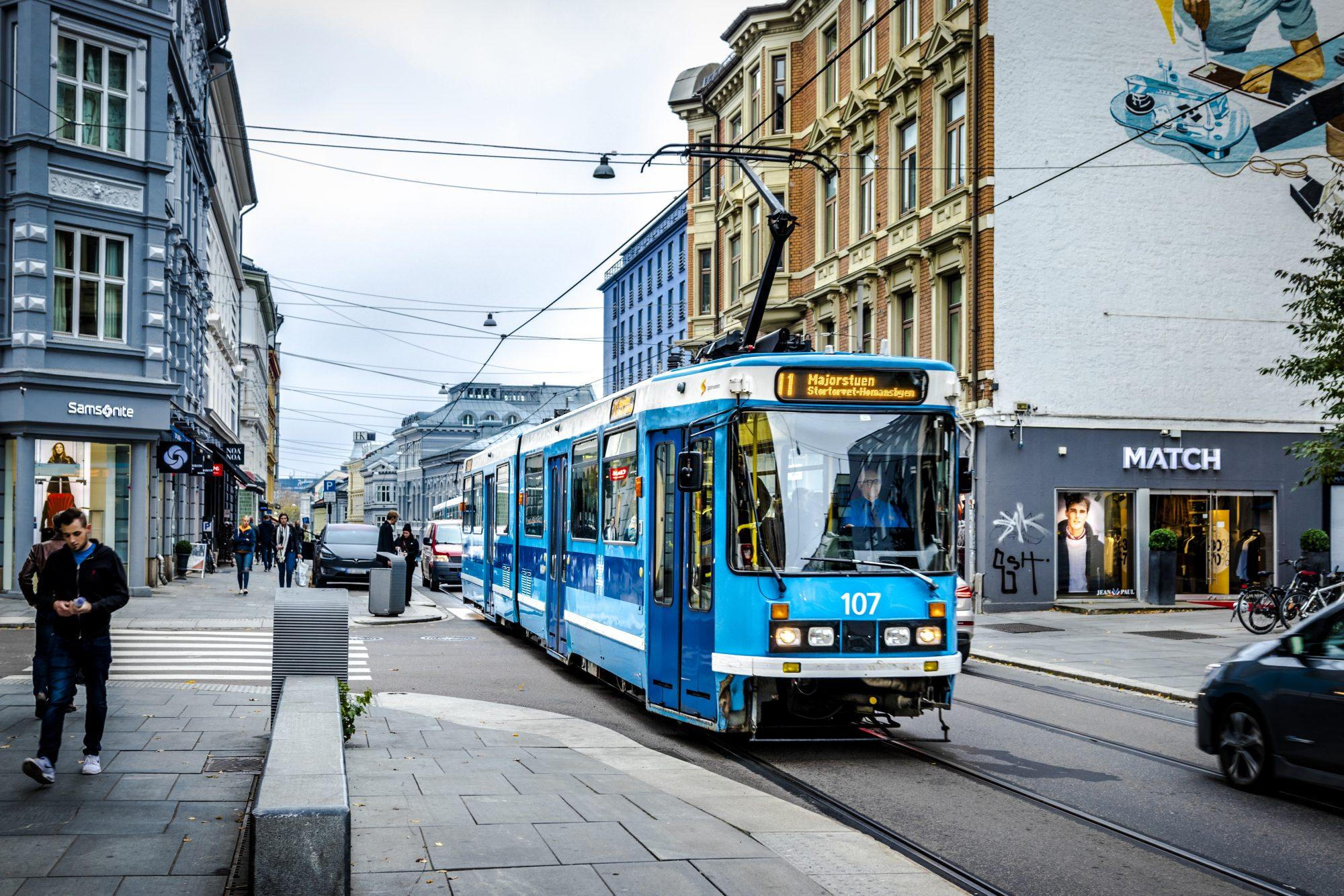 Sporveien_Trikk i Bogstadveien 1