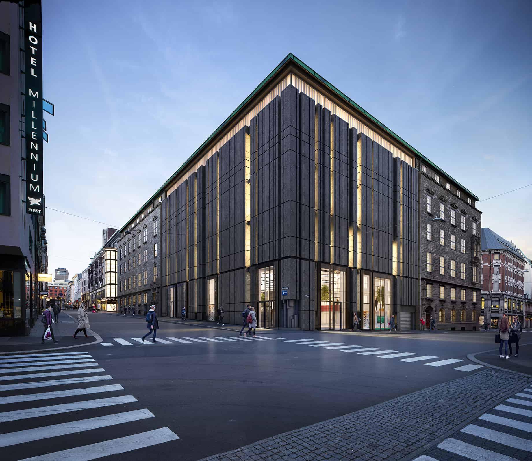 Telegrafen vil bli blant Norges flotteste kontorlokaler når bygget står ferdig i 2020