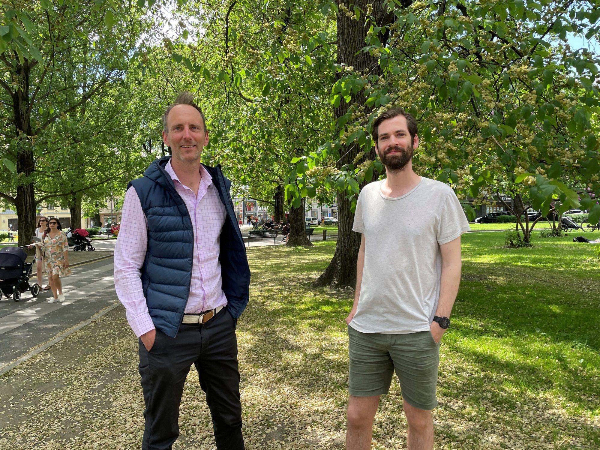 bilde Eirik og Jørgen