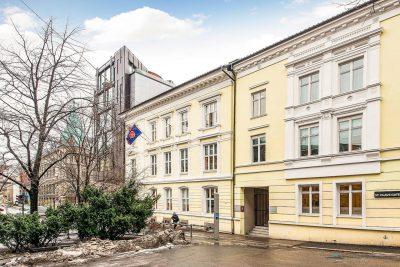 Oslo Sentrum/St. Olavs plass: Til leie kontor/galleri/forretningslokale på ca. 199,5 kvm.