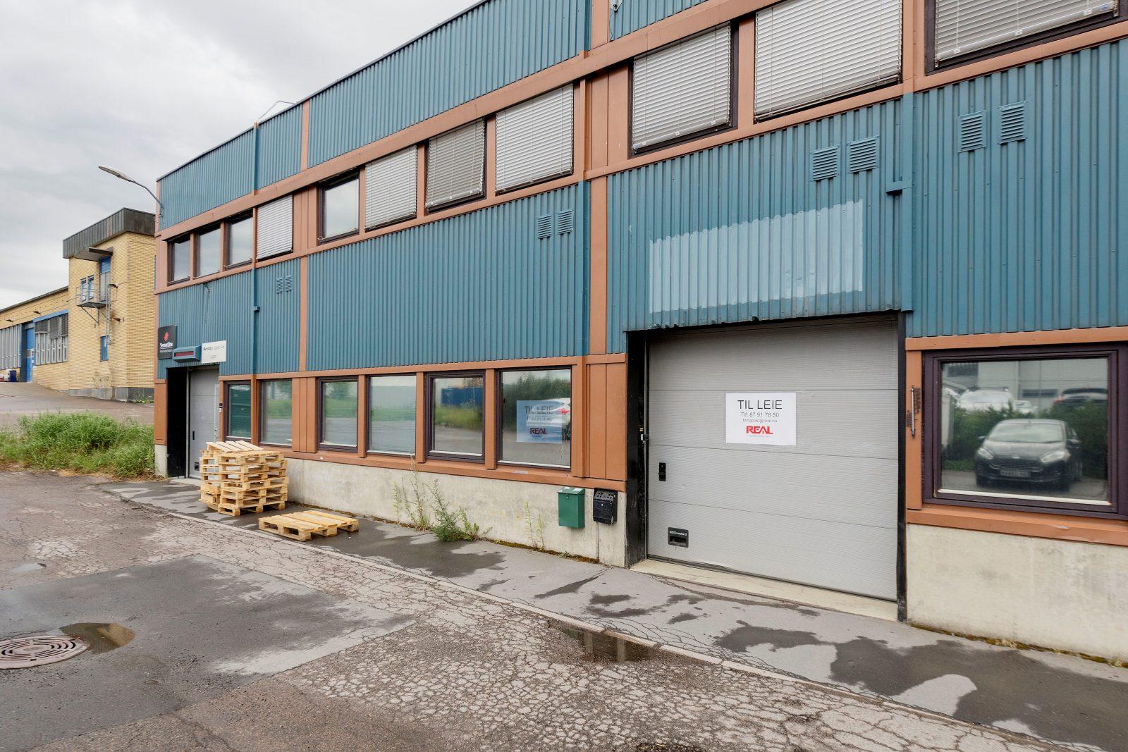 Kjøreport til lagerlokale på ca. 311 kvm
