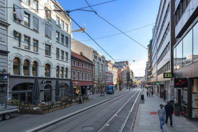 Oslo sentrum - Kontorlokale med god standard. BTA 235 kvm.