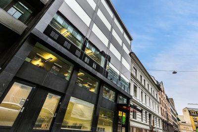 Sentrum: Representative lokaler på 380 kvm BTA. til leie for kontor/undervisning/showroom/behandling/Cafè