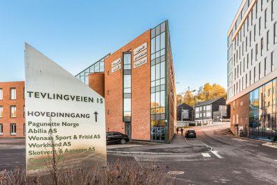 Trosterud/Furuset/Alna ved E6: Representative kontorlokaler til leie fra 351,7 til 695,7 kvm BTA.