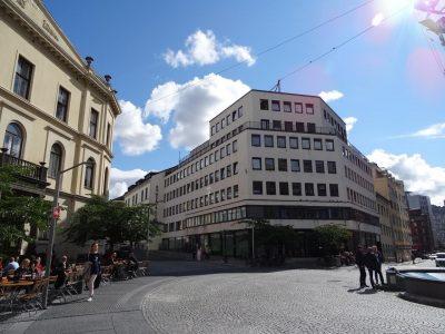 St. Olavs plass - Flott kontorlokale med egen terrasse. BTA 213 kvm.