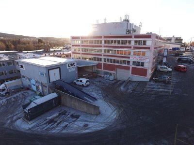 Kombinasjonslokaler i Stanseveien - 390 kvm lager/kontor + 60 kvm lasterampe