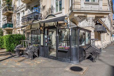 Frogner - Cafe Elise. Utleid næringsseksjon til salgs.