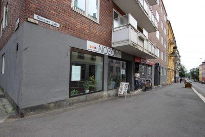 Bislett/Adamstuen - Hjørnelokale på gateplan med inngang fra Thereses gate.