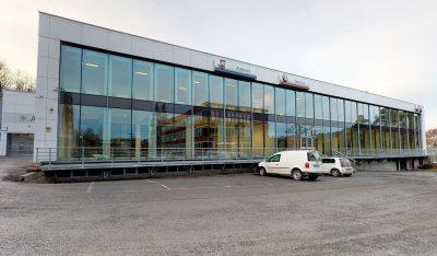 Sandvika: Attraktive og lyse kontorlokaler m/store vindusflater.