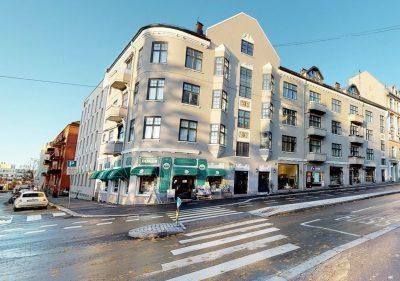 St. Hanshaugen: Attraktivt butikk-/forretningslokale til leie på ca. 113 kvm BTA i Ullevålsveien.