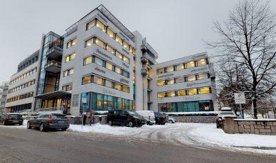 Skøyen: Meget representative kontorlokaler til leie fra 278 til 556 kvm bta.