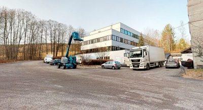 Rødtvet - Lager/kontorseksjon med rampe og parkering. Planlagt regulering til bolig.