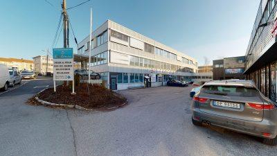 Ryen: Sentralt beliggende eiendom m/ledig areal på ca. 850 kvm BTA.