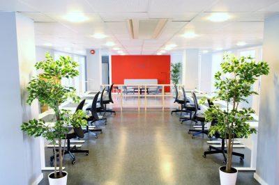 Sentrum/Grønland: Patentkontoret kontor-fellesskap og co-working space.