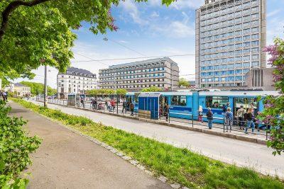Solli plass - Flotte kontorlokaler til leie. Fra BTA 22 - 110 kvm. Kantine-Parkering-Møblert
