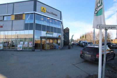 Butikklokaler på ca. 346 kvm BTA til leie.