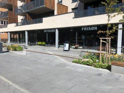 2 nyoppførte butikklokaler til leie på bakkeplan - Myrvoll stasjon v/ Kolbotn