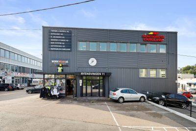 Ryen: Ledig kontor-/showroom/lagerlokale på ca. 126 kvm BTA.
