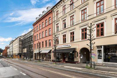 Grünerløkka: Serveringslokale på 127 kvm BTA. God eksponering.