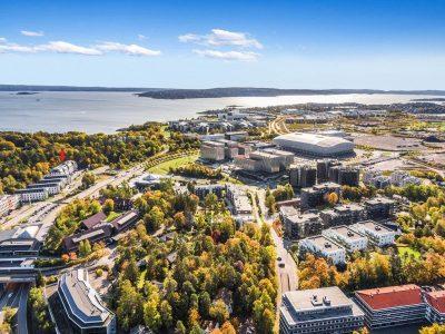 Fornebu: Representative kontor- eller behandlingslokaler til leie fra ca. 300 til 2.275 kvm BTA.