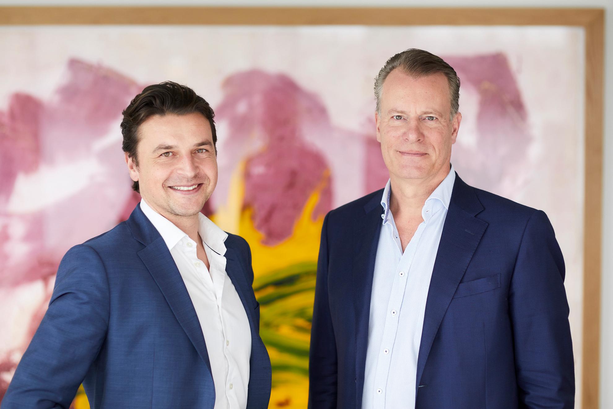 Morten Borge og Johan AndresenPressebilder for Ferd.