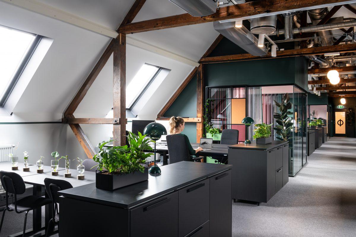 Ramsøskar interiørarkitekters kontorer