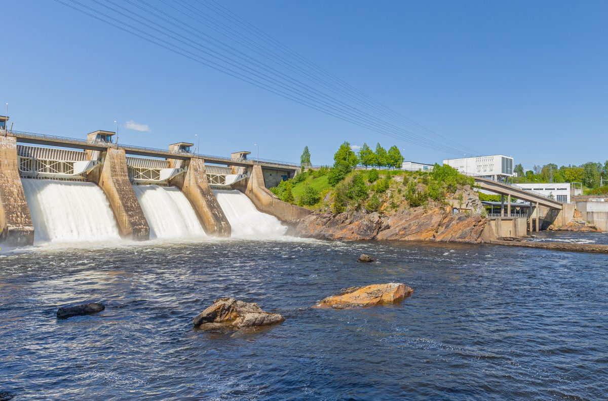 Hydroelectric,Power,Plant,In,Norway,,Providing,Green,Power,To,The
